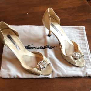 Brian Atwood heels! 3 inches. Size 6.